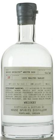 House Spirits Whiskey White Dog